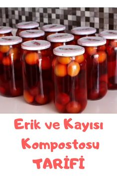 Erik ve Kayısı Kompostosu Turkish Delight, Turkish Recipes, Food, Essen, Meals, Yemek, Eten