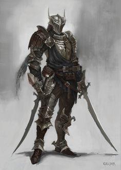 ArtStation - middle age armor, celder art