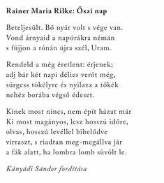 Rainer Maria Rilke, Poet, Math Equations