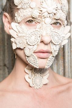 Givenchy always delivers the most perfect avante-gard runway beauty looks.