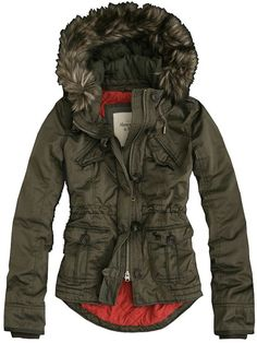 Abercrombie and Fitch Womens Coat Jackets 026