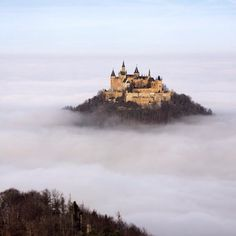 """ourplanetdaily: """"Hohenzollern Castle Germany - Photography by  Robin Holler. #OurPlanetDaily"""""""