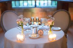 Bride and Groom Table at The Barn on The Crane Estate, Ipswich MA - Julie Paisley Photography, Danielle Mancini Events