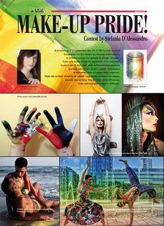 make-up pride! contest pubblicato su SALON | gallery nails numero 4/2012 by Stefania D'Alessandro + Giorgia Di Giorgio