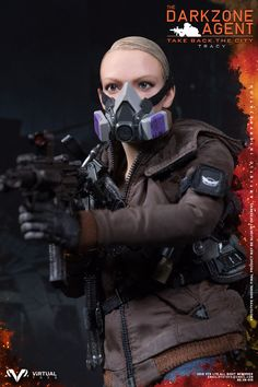 REAL LIKE HEADSCULPTURE FEMALE ACTION BADY TACTICAL GLOVES x5  Costume :  OVERCOAT(BLUE) JEANS(LIGHT BLUE) T-SHIRT  BRA COMBAT BELT OUTDOOR BOOTS  BODY ARMOR  Weapons:  SIG MPX-K SUBMACHINE GUN (GOLD) SIG MPX-K 30R MAGx2+1 BCM RAIL VERTICAL GRIP SIG REAR SIGHT  SIG FRONT SIGHT TACTICAL SLING X300 LIGHT (SAND) T1 REDDOT SIGHT (SAND) G26 PISTOL (BLUE) G26 MAG x2+1 MAC-11 MACHINE PISTOL (CAMO) MAC-11 MAG x2 MAC-11 SILENCER FLARE GUN FLARE GUN HOLSTER FLAREx2 FLASHBANGX2 SMOKEBANG SEEKER MINE…