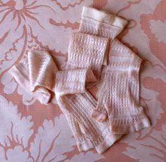 Victorian fingerless gloves. 1850 de HankiesHandkisses en Etsy