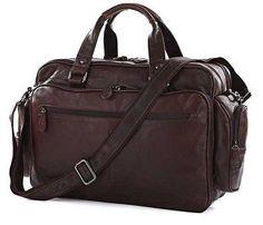 STILORD Herren Aktentasche Lehrertasche Umhänge Laptop Tasche Leder Braun in Kleidung & Accessoires, Herren-Accessoires, Taschen | eBay