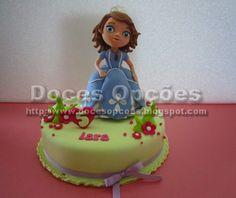 Doces Opções: Bolo aniversário Princesa Sofia