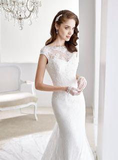 Jolies Nicole Spose joab16513, collectie 2016 Chic is deze slanke trouwjurk in…