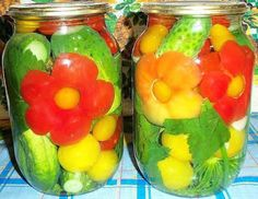Canning as art form! And I can't manage to make a batch of refrigerator pickles. Watermelon Pickles, Refrigerator Pickles, Doreen Virtue, Josephine Wall, Home Food, How To Make Cheese, Fermented Foods, Canning Recipes, Food Design