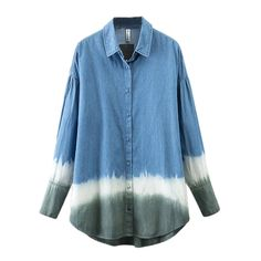 >> Click to Buy <<  of 2017 new European style fashion all-match denim shirt woman hanging with wide thin long sleeved shirt loose version #Affiliate