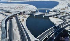 إنجاز 90% من مشروع الجسر المؤدي إلى شارع المركز المالي: بكُلفة 177 مليون درهم إنجاز 90% من مشروع الجسر المؤدي إلى شارع المركز المالي…