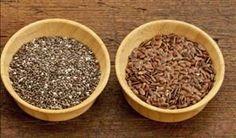 Ambas as sementes são saudávies e ajudam a emagrecer - Foto: Getty Images
