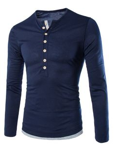 Men Slim Fit Stylish T-Shirts, Black, Grey, Navy Blue Item Type: TopsTops Type: TeesGender: MenPattern Type: SolidStyle: FashionFabric Type: BroadclothHooded. Mens Tee Shirts, Henley Shirts, Casual T Shirts, Casual Wear, Textiles, Camisa Polo, My Guy, Long Sleeve Shirts, Menswear