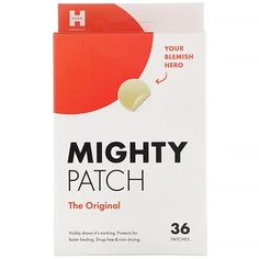 חיפוש - mighty patch - iHerb Best Acne Spot Treatment, Acne Treatments, Korean Beauty Routine, Pimples Overnight, Lengthening Mascara, Pore Cleansing, Acne Spots, Oily Skin Care, Drug Free