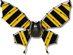 Strap this on your back and give yourself a quick stop when you need one - the wings fly out of your backpack and slow you down fast! Watch the video on bikebutterfly.com