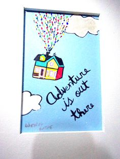 """""""UP BALÕES""""  Quadrinho decorativo; pintado à mão; madeira; 15x20 cm; entrega para todo o Brasil.   contato@gicabellinha.com"""