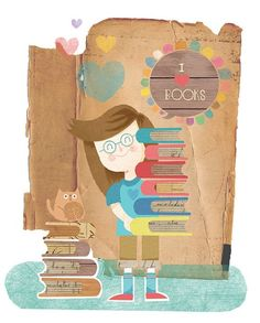 I love books!! Teaching your child how to read opens doors to the whole world.