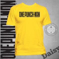 Jual Kaos One Punch Man Logo Hitam - Yoyaku Shop   Tokopedia