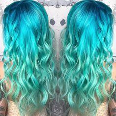 952 Likes, 13 Comments - ʜᴀɪʀ + ʙᴀʟᴀʌm Hot Hair Colors, Cool Hair Color, Fantasy Hair Color, Hair Colour Design, Best Hair Dye, Pulp Riot Hair, Hot Hair Styles, Princess Hairstyles, Good Hair Day