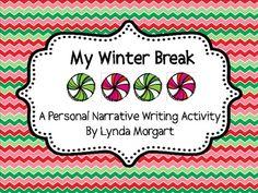 My christmas break essay