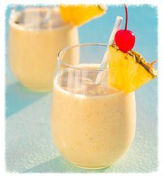 cookiescrumbsandchickens: Pina Colada Oatmeal Breakfast Smoothie