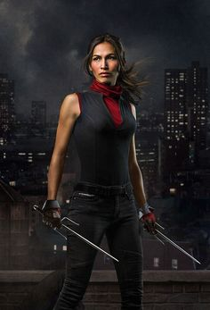 Elektra, also known as Elektra Natchios, is an assassin who was trained under Stick, the same old man from the Chaste who later trained Matt Murdock. She fell in love with Murdock when on a mission for Stick to bring Murdock into the Chaste. She returned to his life after years of absence, putting her beliefs and methods at conflict with his own. Later, she was revealed to potentially be the Black Sky, the one who is supposed to lead the organization of assassins known as the Hand…