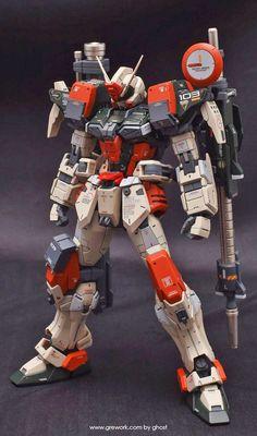 GUNDAM GUY: MG 1/100 Buster Gundam - Customized Build