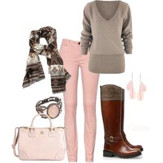 Winter Pink - Modest Trendy Fashion: I love everything but the pants...I do not wear skinny jeans!!!