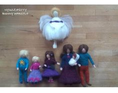 Make A Family, Dollhouse Dolls, Needle Felting, Merino Wool, Favorite Color, Children, Kids, Give It To Me, Inspiration