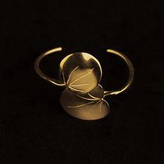 Bracelet Capucines d'Or - Deux Feuilles