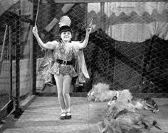 American child actress Darla Hood in a promotional still for 'Clown Princes' a…