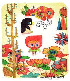 1時間でREMIX描きシリーズ。まーキレイだけどさ・・・入園料1.000円って。高くない?っていう絵。