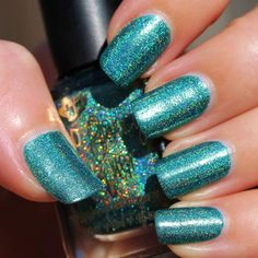 Too Fancy Lacquer - Buried Treasures (Holo Grail Box - August 2014)