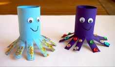 Toddler Fun, Toddler Crafts, Preschool Crafts, Easter Crafts, Winter Crafts For Toddlers, Diy Crafts For Kids, Arts And Crafts, Rolled Paper Art, Acorn Crafts