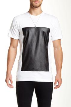 Hip & Bone Tee Leather Box Black