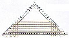 tejido telar triangular - Buscar con Google