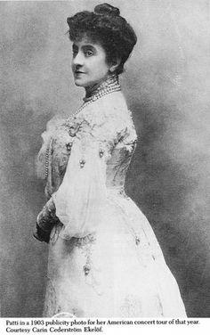 Opera diva Adelina Patti