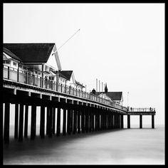 Southwold Pier long exposure #southwold #southwoldpier #suffolk #bnw #bnwphotography #longexposure #longexposhots #bw_divine Long Exposure, Shots, Instagram