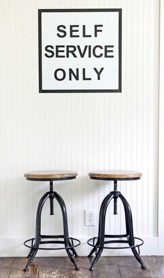 EVERY Kitchen should have this sign! gina luker's kitchen at the shabby creek cottage