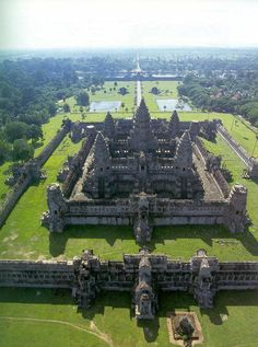 It is incredible what people were capable of building and valued architecturally in the past. Cambodia - angkor wat temple