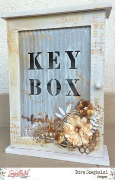 Kulcsok őre Altered Art, Oreo, Box, Frame, Vintage, Design, Home Decor, Picture Frame, Snare Drum
