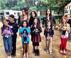 Omg I wishi was one of those little girls