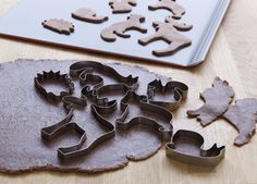 DRÖMMAR pastry cutters - Cookies shaped like cute critters are doubly sweet!
