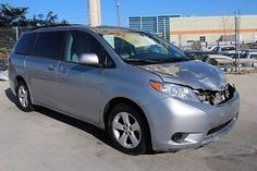 eBay: 2015 Toyota Sienna LE 2015 Toyota Sienna LE Damaged Salvage Only 20K Miles Many Options Nice… #carparts #carrepair usdeals.rssdata.net