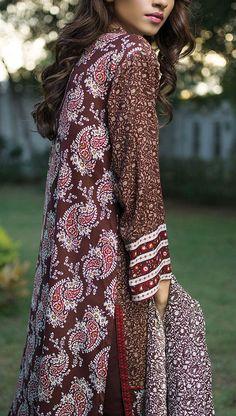 Buy Dark Brown Printed Linen Salwar Kameez by Orient 2015 Call: (702) 751-3523 Email: Info@PakRobe.com www.pakrobe.com #WINTER_SALWAR_KAMEEZ https://www.pakrobe.com/Women/Clothing/Buy-Winter-Salwar-Kameez-Online