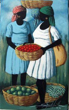 Two Women~Art Works For Haiti