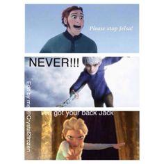 Hans cannot stop JELSA!!!!