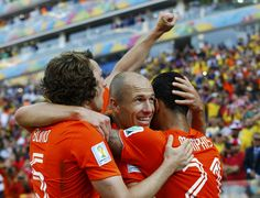 No. 2 at 2013 World Cup - Arjen Robben, Netherlands