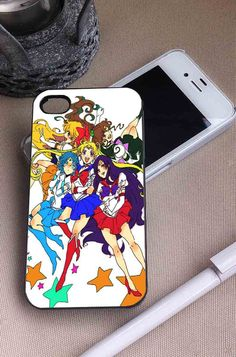Sailor Moon Characters | Cartoon | iPhone 4 4S 5 5S 5C 6 6+ Case | Samsung Galaxy S3 S4 S5 Cover | HTC Cases